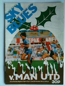 198283 Coventry City v Manchester United 1st Division - <span itemprop=availableAtOrFrom>Basingstoke, United Kingdom</span> - 198283 Coventry City v Manchester United 1st Division - Basingstoke, United Kingdom