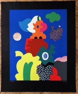 Otmar ALT farbserigraphie 1970 mano firmato U. numerati 58/120