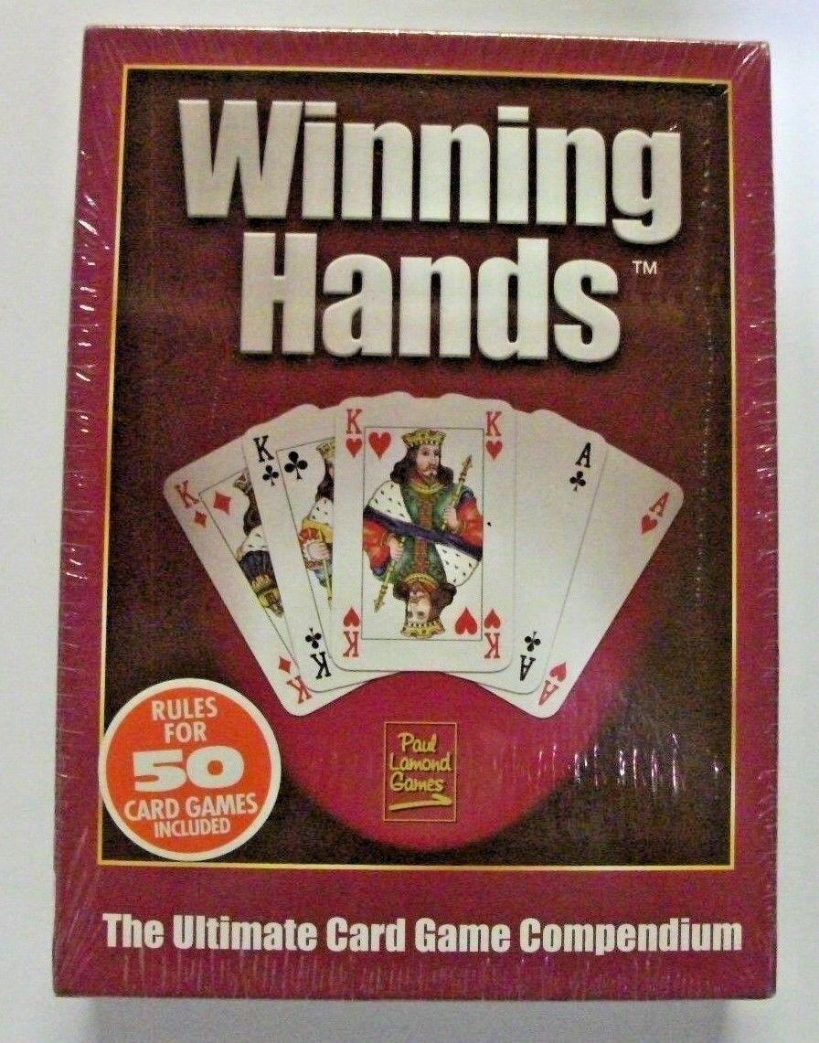 PAUL LAMOND GAMES WINNING HANDS ULTIMATE CARD GAME BRAND BRAND BRAND NEW SEALED FREE P&P 466ab2