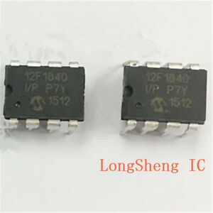 1PCS-PIC12F1840-I-P-IC-MCU-8BIT-7KB-FLASH-8DIP-Microchip-new