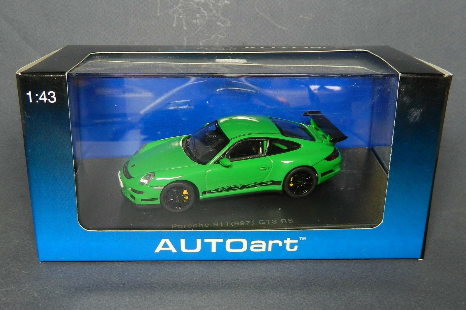1 43 Porsche 911 GT3 GT3 GT3 RS 997 AUTOart 57912 Very RARE diecast 1 43 scale car Auto 40a4c2