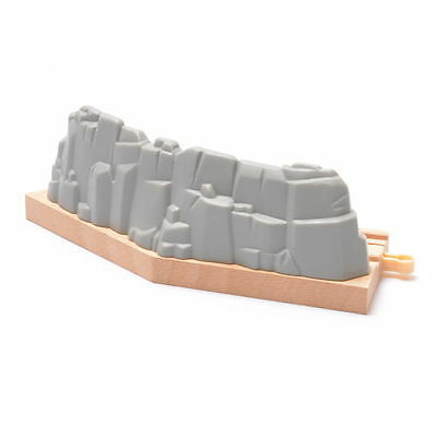 Short Gravel Curved Track Railway Pack fit Thomas and Brio Wooden Train kids toy