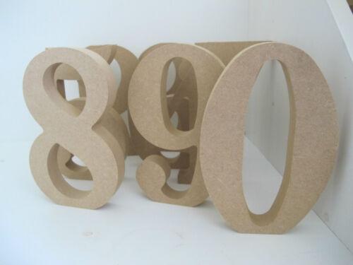 Números de Madera de Calidad Premium 160 mm alta fuente de los tiempos de 18 mm de espesor