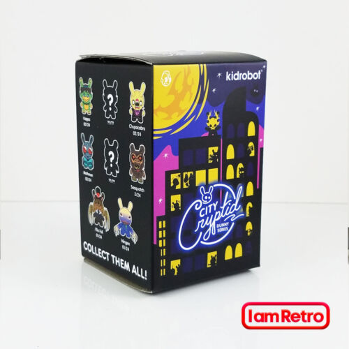 "City Cryptid Dunny 3/"" Mini Série Unique Blind Box par Kidrobot Nouveau Vinyl Figure"