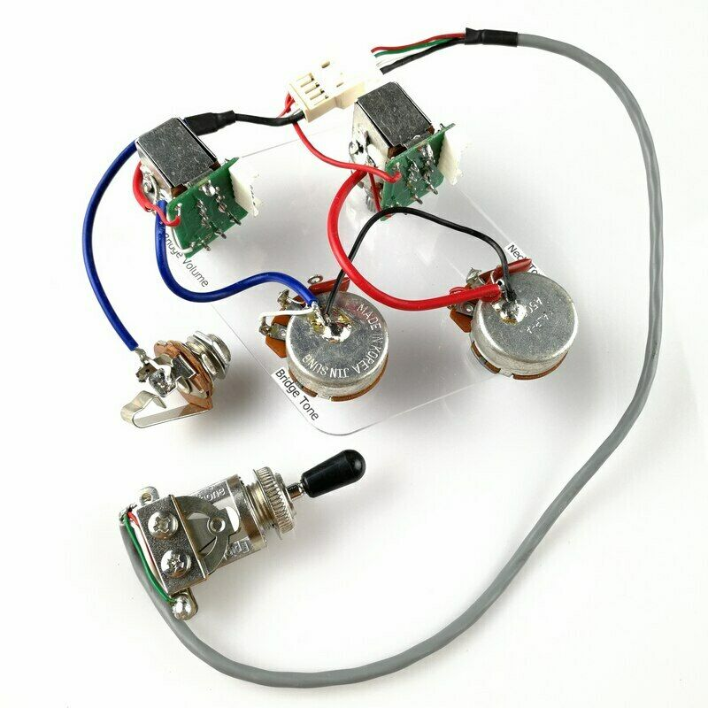 Real Epiphone Pro Wiring Harness Push Pull Alpha Pots Switch Fit ... diagram les paul wiring eBay