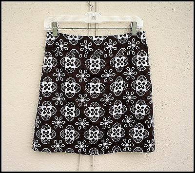 ANN TAYLOR LOFT Size 2P/2 Fabulous Embroidered Boho Chic Mini Skirt