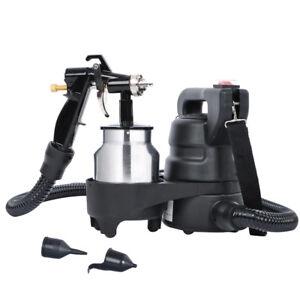 1000ml-Electric-HVLP-Air-Spray-Gun-Kit-450W-Paint-Sprayer-1-0mm-Nozzle-DIY-Tool