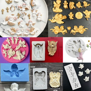 Angel-Silicone-Cake-Mold-Sugarcraft-Fondant-Decor-Chocolate-Baking-Topper-Mould