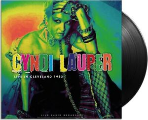 Cyndi Lauper – Live in Cleveland 1983.  New  LP  Vinyl  in seal
