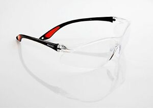 10x KA.EF. Schutzbrille VIEW/Klar CE + EN166 + EN170 + ANSI Z87.1, UV-Schutz