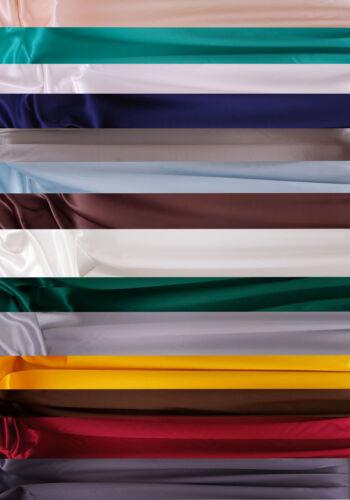 Lote 100/% satén de seda de tela Vendido por metros en anchos 45ins