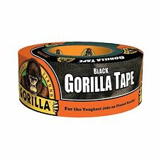 """NEW Gorilla Tape 1.88"""" x 12 yds Black, Made in USA"""