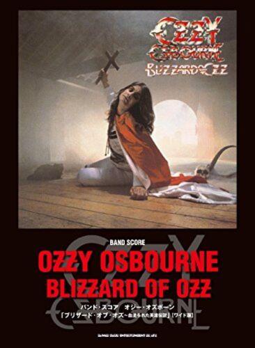 USED Ozzy Osbourne Blizzard of Ozz Band Score Japan Sheet Music