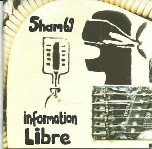 SHAM-69-INFORMATION-LIBRE-CD-ROTATE-SIGNED