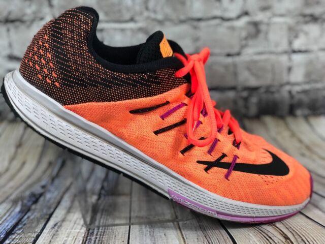 a77da7cde99f Nike Womens Air Zoom Elite 8 Running Shoes 748589-805 sz 10 Bright Citrus