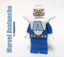 LEGO Custom - Avalanche -  Marvel Super heroes mini figure ironman spiderman