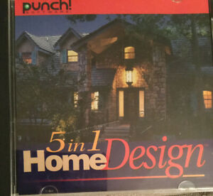 Punch Software 5 In 1 Home Design Windows 95 98 Nt Cd Rom Ebay