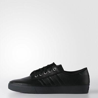 Pour Hommes Adidas Originals Kiel Cuir Baskets Chaussures Skate Noir Rétro | eBay