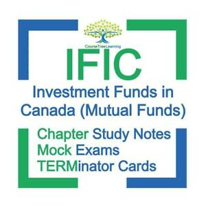 IFIC IFSE CFIC  Investment Funds in Canada CSI Mutual Funds Exam Preparation Study Notes Kit 2020 Canada Preview