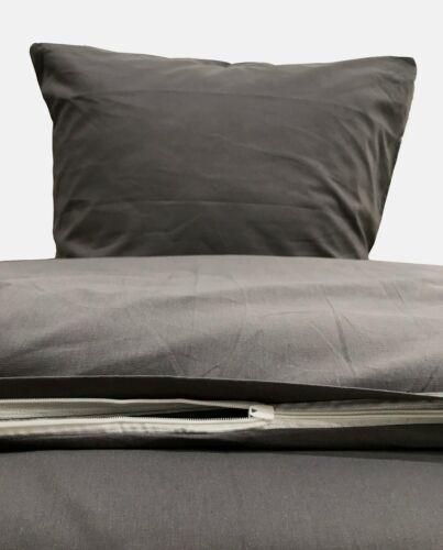 Uni Bettwäsche 135x200 cm 4 teilig 2 teilig Renforce Baumwolle Bettbezüge Set