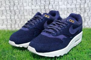 Details about Nike Air Max 1 LX Indigo Canvas Denim Blue Luxury qs prm 97 917691 400 WOMEN 6.5