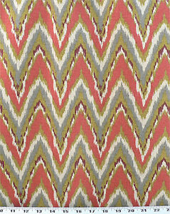 Drapery-Upholstery-Fabric-Cotton-Flame-Stitch-Design-100K-DRubs-Coral-Gray