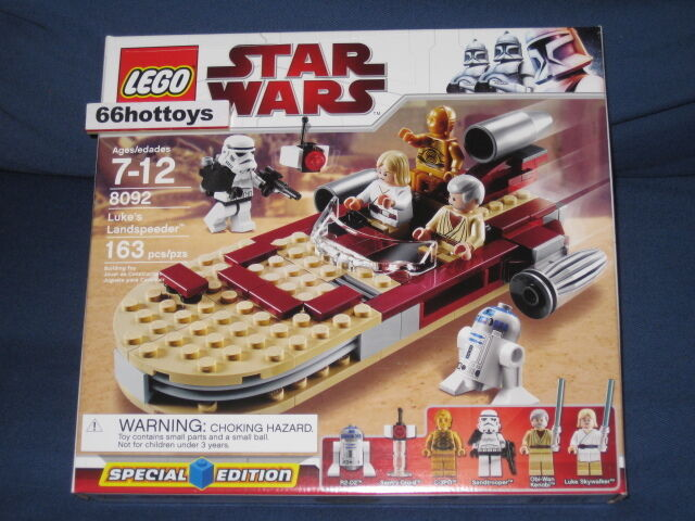 LEGO 8092 STAR WARS Luke's Landspeeder NEW