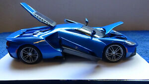 Maisto-Blue-2017-FORD-GT-1-18-scale-Diecast-SP-Edition