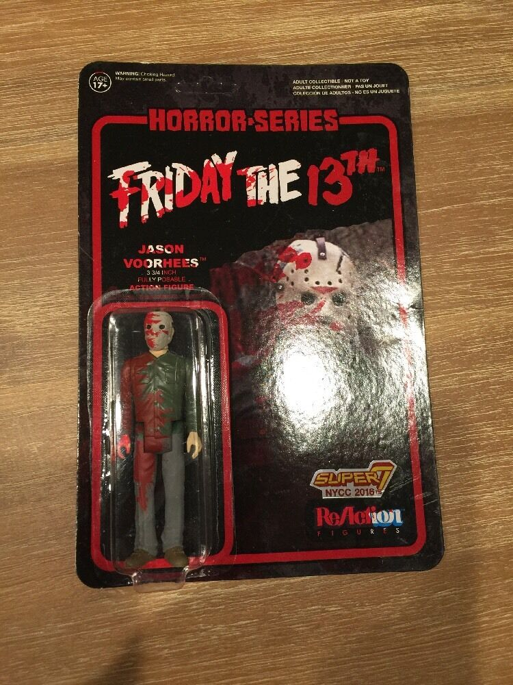 Jason Vorhees Figure - 2016 NYCC Exclusive - - - Friday The 13th - Super7   ReAction c8901b
