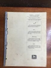 John Deere 105 Series Self Propelled Combine Parts Manual Book Catalog Pc 746