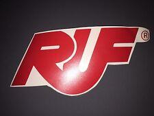 """RUF Adhesive Car Stickers Vinyl Porsche 6""""x4"""" Inches Gemballa 2 x Decals"""