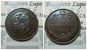 Vittorio-Emanuele-II-5-Cents-1862-Na-Naples-Q-Spl-Assessed