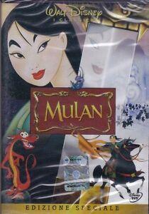 Dvd-Disney-MULAN-nuovo-1998