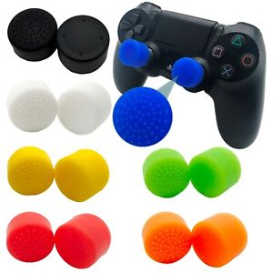 Cubierta-de-palo-de-pulgar-Extensores-Fps-Agarre-Tapas-Para-Sony-Playstation-PS4-Controlador