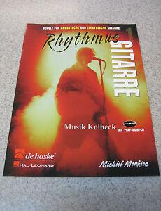 Rhythmus-Gitarre-1-v-Michiel-Merkies-Gitarrenschule-Akkorde-m-CD