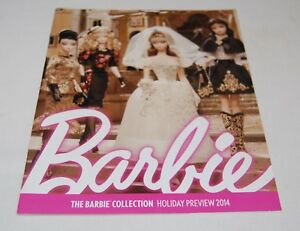 Barbie-Collectors-Magazine-Holiday-Preview-2014-Catalog