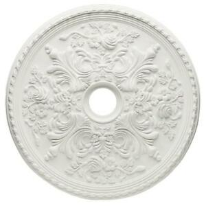 Hampton-Bay-28-in-White-Cape-May-Ceiling-Medallion