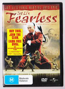 LIKE-NEW-Jet-Li-039-s-Fearless-DVD-R4