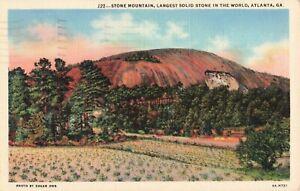 Postcard-Stone-Mountain-Atlanta-Georgia