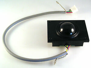 GEC-Plessey-Mouse-Trackball-Control-Hi-Tech-Use-33mm-Diam-Ball-Panel-Mnt-OM0850