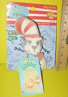 Dr Seuss Ring Rattle My Natural Cat In The Hat Baby Toy Teething Lorax Project