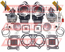 Carburetor Carb Cylinder Piston Gasket Kit Set Yamaha Banshee 350 1987-2006