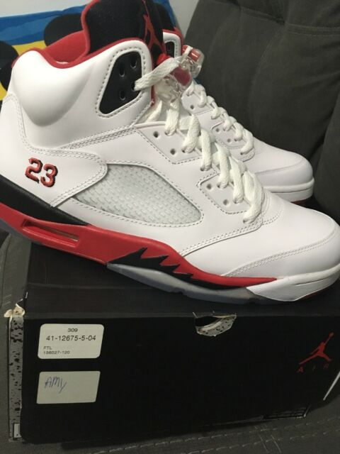reputable site fd53e 96fcc Air Jordan Retro 5 Fire Red