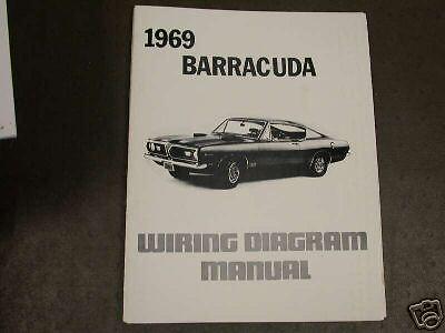 1969 Plymouth Barracuda Wiring Diagram Manual
