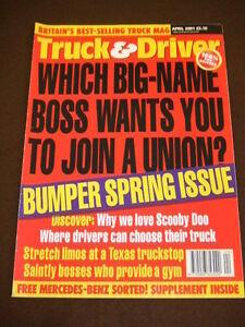 TRUCK-amp-DRIVER-STRETCH-LIMOS-AT-A-TEXAS-TRUCKSTOP-April-2001
