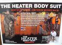 The Heater Body Suit - Large Wide - Realtree Camo
