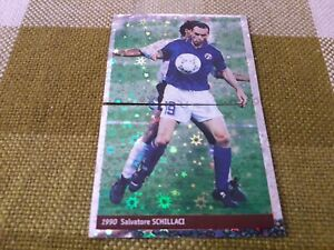 SALVATORE-SCHILLACI-ITALIA-FIGURINA-DS-STICKERS-FRANCE-98-WORLD-CUP-new