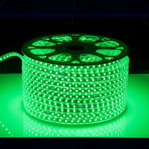 AC 110V LED Strip Lights 5050 60LED//M Flexible Waterproof Rope Light+US Plug