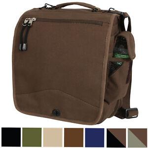 Military M-51 Messenger Bag Canvas Engineers Field Bag Work Shoulder ... 770d9e2c682