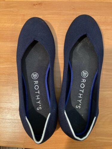 [AUTHENTIC] Rothy flats (Color: Maritime Navy), Si